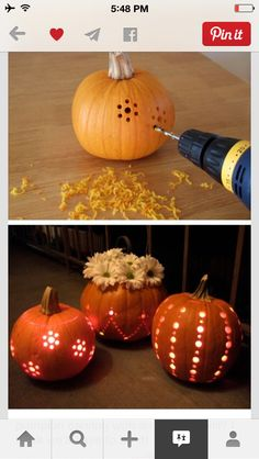 clever and useful pumpkin hacks that will take your Halloween game to the top - Amz Dego - clever and useful pumpkin hacks that take your Halloween game to the top – cool ideas - Lantern Centerpiece Wedding, Fall Wedding Decorations, Diy Centerpieces, Pumpkin Wedding Centerpieces, Halloween Decorations, Halloween Designs, Halloween Tags, Halloween Pumpkins, Halloween Party