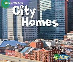 Where we Live - 4 homes titles for K-2