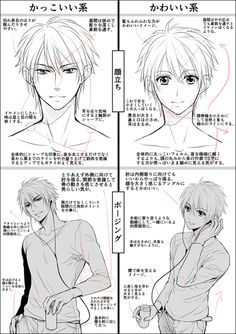 Anime Front View : anime, front, Front, Anime/manga, Males, (teens)