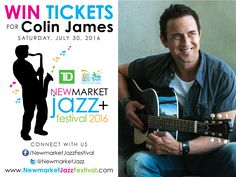 Enter the Shirtliff Hinds Law contest to win Colin James-Brass Transit or Day Passes to the Newmarket Jazz+ Festival. Share with friends and win. Jazz Festival, Festival 2016, Win Tickets, Music Lovers, Main Street, Musicals, Fun Things, Day, Canada