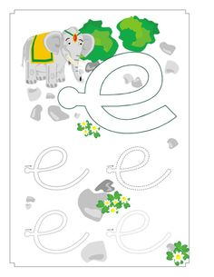 Las vocales: Fichas y material interactivo - Material de Aprendizaje Teaching Activities, Pre School, Classroom, Kids Rugs, Symbols, Letters, Education, Montessori, Leo