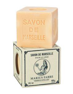Savon de Marseille pour le linge - Savonnerie Marius Fabre