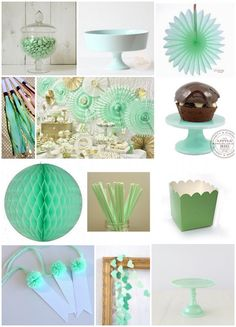 mint green party products