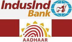 link your Aadhaar with IndusInd Bank Aadhar Card, Bank Account, Burger King Logo, Accounting, Link, Cards, Business Accounting, Map, Beekeeping