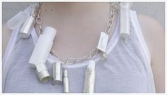 Placebo Effect of Jewellery, Collage Necklace 2010