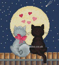 Buy Kiti and Tom Cross Stitch Kit Online at www.sewandso.co.uk
