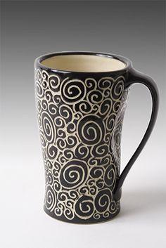 Must have. Doodle Mug: Jennifer Falter: Ceramic Mug - Artful Home