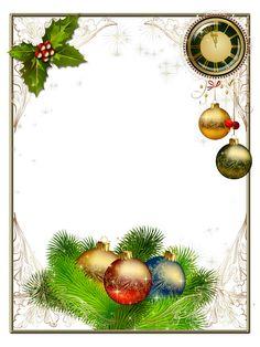 Bordes y marcos de fotos de Navidad y Año Nuevo. ~ Marcos Gratis ...