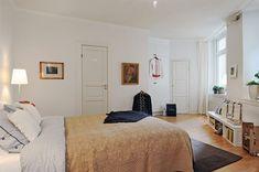 30 beautiful & modern swedish bedroom designs #19