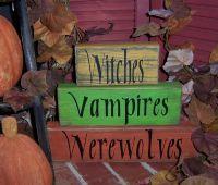 Witches Vampires Werewolves