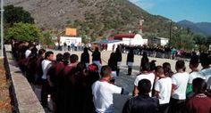 Tres Lagunas, Landa de Matamoros, Qro. 25 de abril de 2016.- Buscando que alumnos de la localidad conozcan y preserven...