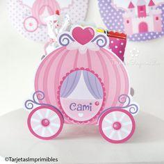 Imprimibles Princesas para cumpleaños