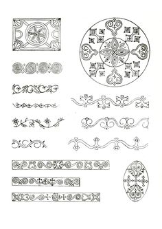 Якутский орнамент.
