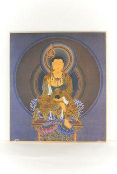 仏画色紙地蔵菩薩