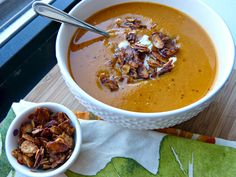 A Squared: What's For Dinner Wednesday: Spicy Roasted Butternut Squash & Chipotle Soup