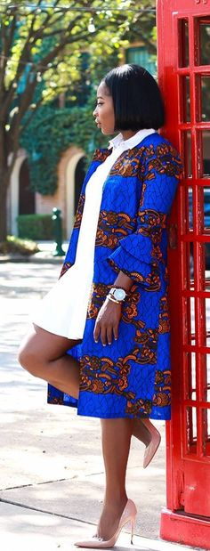 African Print Dresses are . African Tops, African Dresses For Women, African Print Dresses, African Attire, African Wear, African Fashion Dresses, African Women, African Prints, Ankara Fashion