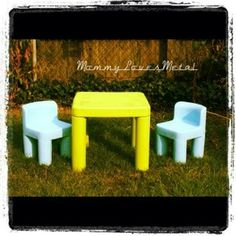 74 Best Kids Picnic Table Images Little Tikes Makeover Little