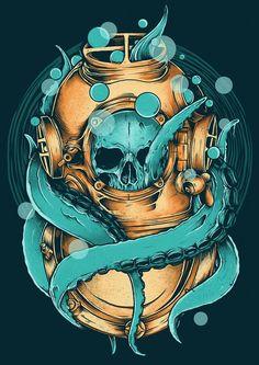 Diver_small-skull