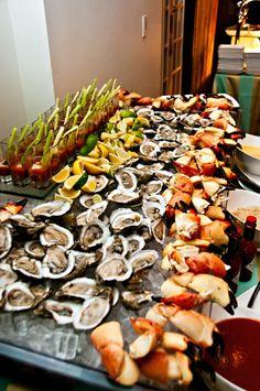 nice display for sea food