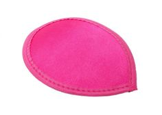 Hot Pink Satin Teardrop Fascinator Hat Base with Hairclips - Available in 12 Colors
