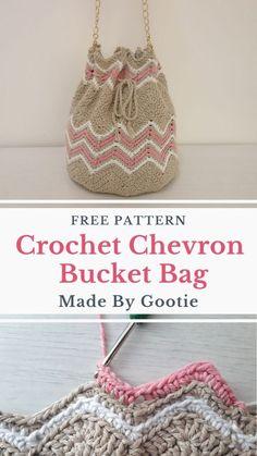 Purse Patterns Free, Bag Pattern Free, Handbag Patterns, Crochet Pouch, Free Crochet Bag, Crochet Bags, Crochet Purses, Crochet Backpack, Diy Crochet