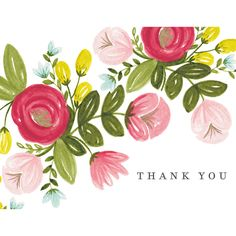Thank You Cards by the Painted Arrow