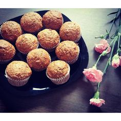 Dyniowe muffinki 💛😊🍊🍊 #weekend  #weekendowychill #dynia #relax #muffin #pyszne