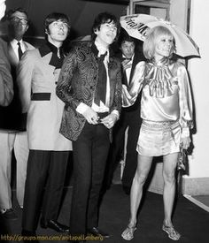 Anita Pallenberg and Keith Richards, 1970's