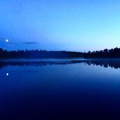 Beautiful norwegian summernight