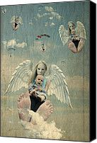 Baby Boom Reloaded Digital Art by Teodora Vlaicu - Baby Boom Reloaded Fine Art Prints and Posters for Sale http://fineartamerica.com/featured/baby-boom-reloaded-teodora-vlaicu.html