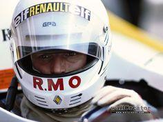 rene arnoux 1979 | Rene Arnoux Ligier Renault JS27 F1 1986 British GP Brands Hatch