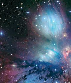 New stars (NGC 2170) Credit: Canada-France-Hawaii Telescope / Coelum