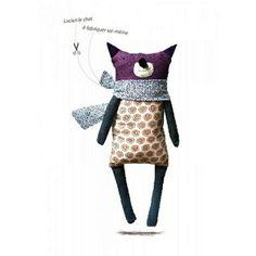 Kit de couture #Lucienlechat #MarieClaireBoutique