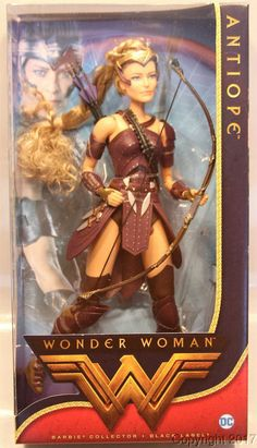 Barbie Collector Wonder Woman General Antiope Doll 2017. | by Pirazin