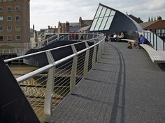 Scale Lane Bridge by McDowell+Benedetti (Hull, London, UK)