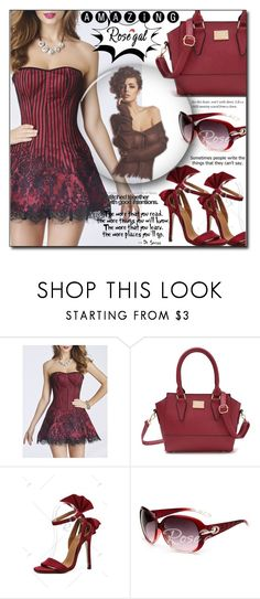 """Rosegal 73"" by aida-ida ❤ liked on Polyvore"