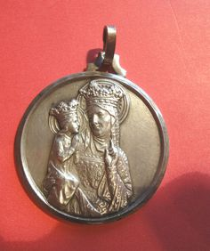 Ste. Anne de Beaupre Vintage Embossed Medal/Fob Made In France