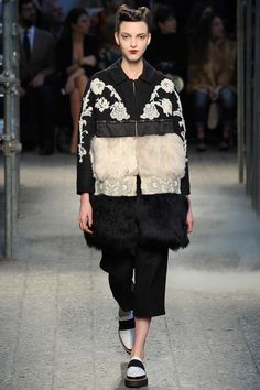 serious fabric blocking at Antonio Marras   Fall 2014 Ready-to-Wear Collection   Style.com