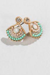 Jasmine Pave Drop Earrings