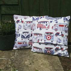Camper cushions for summer
