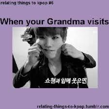 relating things to kpop