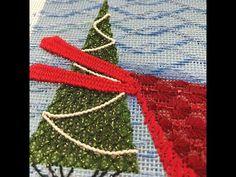 Needle Weaving on Needlepoint Canvas Needlepoint Stitches, Needlepoint Canvases, Friendship Bracelets, Weaving, Youtube, Closure Weave, Loom Weaving, Knitting Looms, Soil Texture