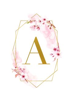 Free Printable Spring Time GLAM Monograms – The Cottage Market Kostenlose druckbare Frühlingszeit GLAM Monogramme – The Cottage Market letras Monogram Wallpaper, Alphabet Wallpaper, Graphic Wallpaper, Wallpaper Quotes, Wallpaper Backgrounds, Frame Floral, Floral Letters, Phone Screen Wallpaper, Iphone Wallpaper