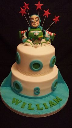 Buzz lightyear cake Mrs B's Queen of Cakes