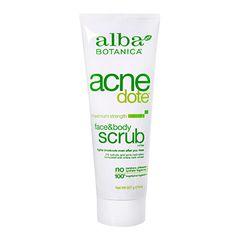 Alba Acne Face & Body Scrub