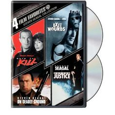 4 Film Favorites: Steven Seagal - Exit Wounds / Hard To Kill / Out For Justice / On Deadly Ground (Widescreen) Steven Seagal, Kelly Lebrock, Amazon Instant Video, Adventure Movies, Warner Bros, Film Movie, Movies And Tv Shows, Movie Stars, Action