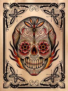 Dia de los Muertos...   (Source: hockey-teeth)