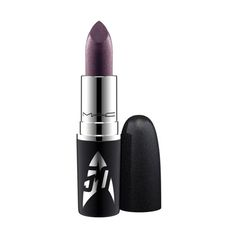 Lipstick / Star Trek in Kling-It-On: A lipstick in sparkling hues, featuring the Star Trek logo in metallic silver.