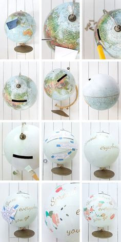 Un beau jour - DIY-globe-Anthropologie-howto