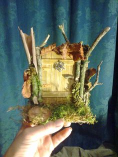 Magical Fairy Doors by CrowCottageCrafts on Etsy, $15.00